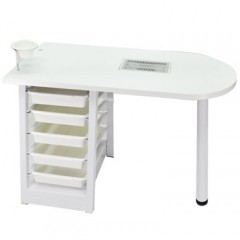 MANICURE TABLE WITH EXTRACTION FAN B09