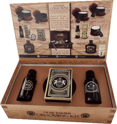 Dear Barber Collection Box 2